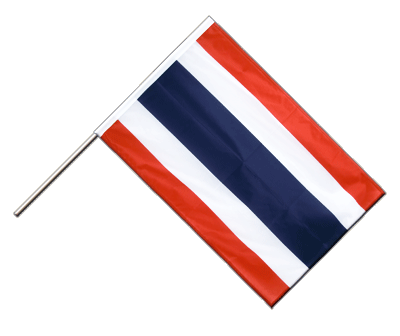 Hand Waving Flag PRO Thailand - 2x3 ft (60 x 90 cm)