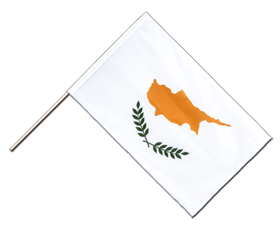 Hand Waving Flag PRO Cyprus - 2x3 ft (60 x 90 cm)