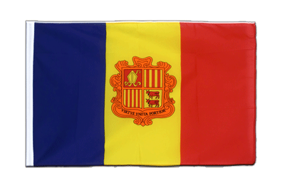 Sleeved Flag ECO Andorra - 2x3 ft