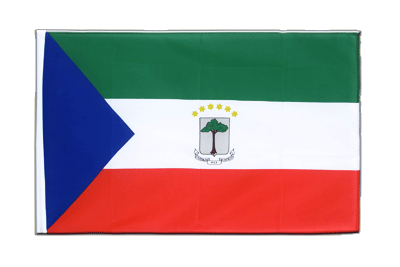 Sleeved Flag ECO Equatorial Guinea - 2x3 ft