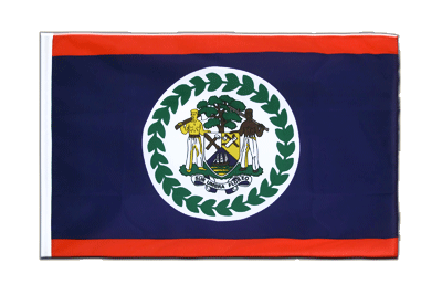 Sleeved Flag ECO Belize - 2x3 ft