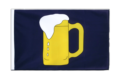 Sleeved Flag ECO Beer - 2x3 ft