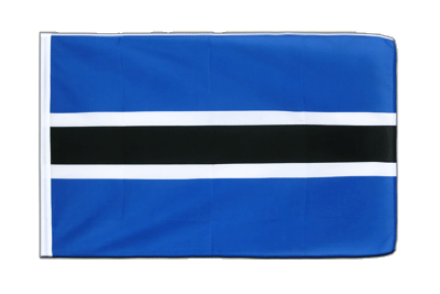 Sleeved Flag ECO Botswana - 2x3 ft
