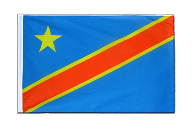 Sleeved Flag ECO Democratic Republic of the Congo - 2x3 ft