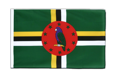 Sleeved Flag ECO Dominica - 2x3 ft