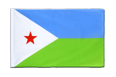 Sleeved Flag ECO Djibouti - 2x3 ft