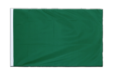 Sleeved Flag ECO green - 2x3 ft