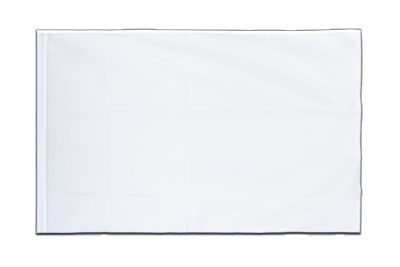 Sleeved Flag ECO white - 2x3 ft