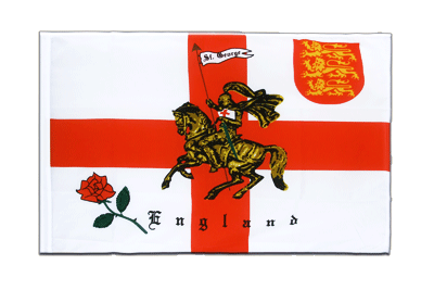 Sleeved Flag ECO England with knight - 2x3 ft
