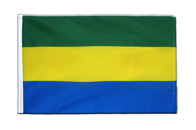 Sleeved Flag ECO Gabon - 2x3 ft