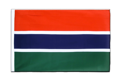 Sleeved Flag ECO Gambia - 2x3 ft