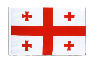 Sleeved Flag ECO Georgia - 2x3 ft