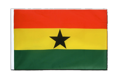 Sleeved Flag ECO Ghana - 2x3 ft