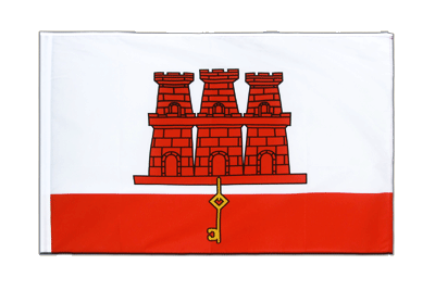 Sleeved Flag ECO Gibraltar - 2x3 ft