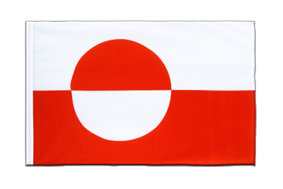Sleeved Flag ECO Greenland - 2x3 ft