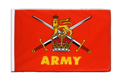 Sleeved Flag ECO British Army - 2x3 ft