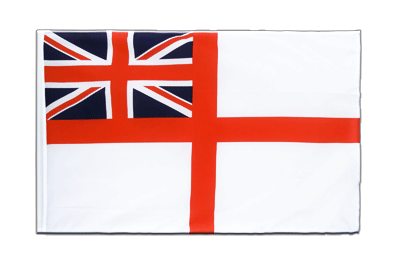 Pavillon Royaume-Uni Naval Ensign of the White Squadron Fourreau ECO 60x90 cm
