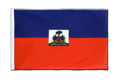 Sleeved Flag ECO Haiti - 2x3 ft
