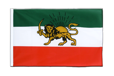 Sleeved Flag ECO Iran Shahzeit - 2x3 ft