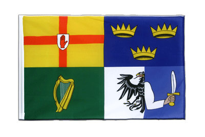 Sleeved Flag ECO Ireland 4 provinces - 2x3 ft