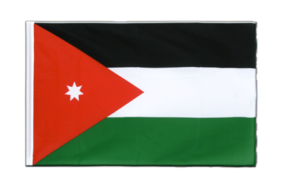Sleeved Flag ECO Jordan - 2x3 ft
