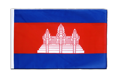 Sleeved Flag ECO Cambodia - 2x3 ft