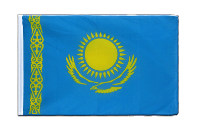 Sleeved Flag ECO Kazakhstan - 2x3 ft