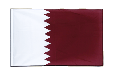 Sleeved Flag ECO Qatar - 2x3 ft