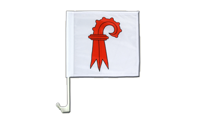 Basel-Land Car Flag - 12x12""