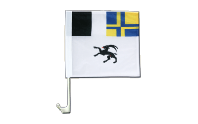 Car Flag Grisons - 12x12""