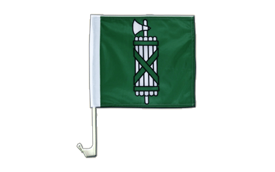 Car Flag St. Gallen - 12x12""