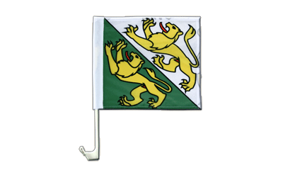 Car Flag Thurgau - 12x12""
