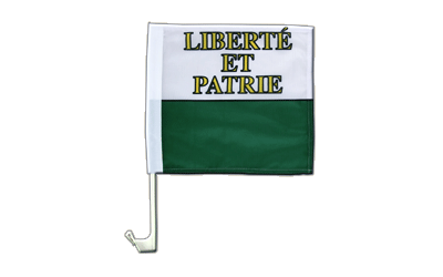 Car Flag Vaud - 12x12""