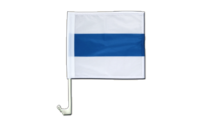 Car Flag Zug - 12x12""