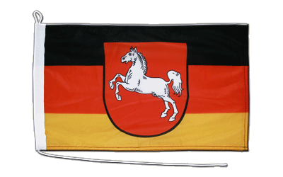 Boat Flag Lower Saxony - 12x18""
