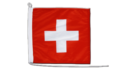 Boat Flag Switzerland - 12x12""