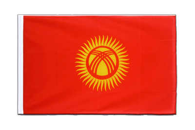 Sleeved Flag ECO Kyrgyzstan - 2x3 ft