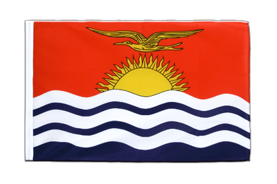 Sleeved Flag ECO Kiribati - 2x3 ft