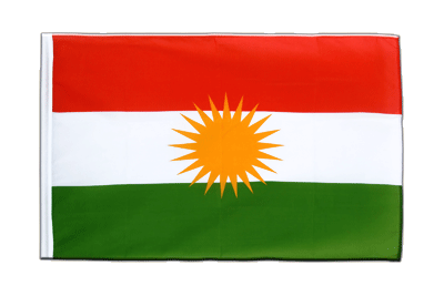 Sleeved Flag ECO Kurdistan - 2x3 ft