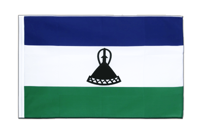 Sleeved Flag ECO Lesotho new - 2x3 ft