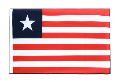 Sleeved Flag ECO Liberia - 2x3 ft