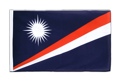 Sleeved Flag ECO Marshall Islands - 2x3 ft