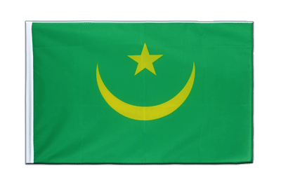 Sleeved Flag ECO Mauritania - 2x3 ft