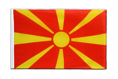 Sleeved Flag ECO Macedonia - 2x3 ft