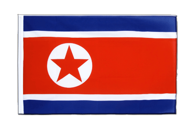 Sleeved Flag ECO North corea - 2x3 ft
