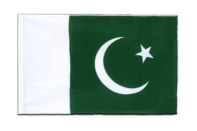 Sleeved Flag ECO Pakistan - 2x3 ft