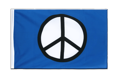 Sleeved Flag ECO Peace CND - 2x3 ft
