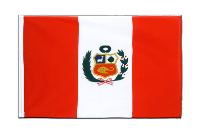 Sleeved Flag ECO Peru - 2x3 ft