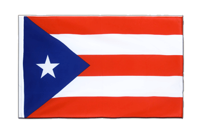 Sleeved Flag ECO Puerto Rico - 2x3 ft