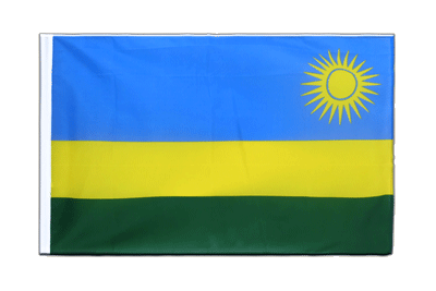 Sleeved Flag ECO Rwanda - 2x3 ft